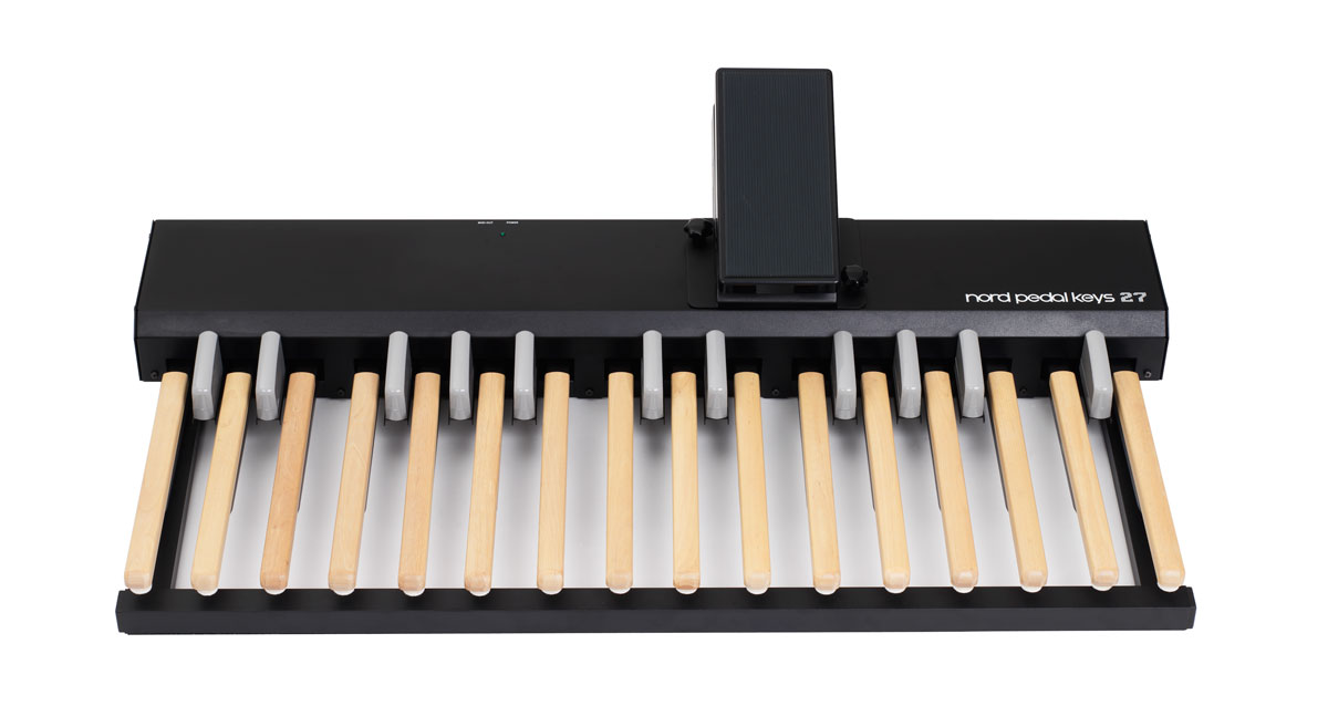Nord Pedal Keys 27   Nord Keyboards