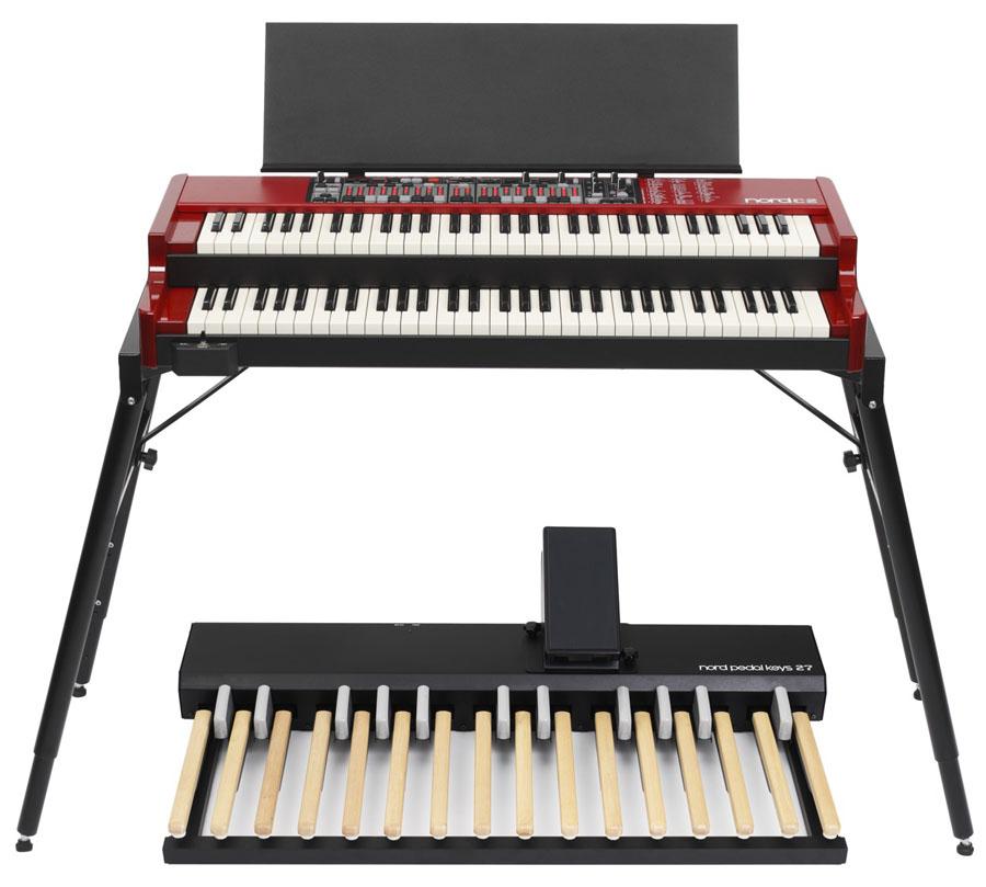 nord pedal keys 27 nord keyboards. Black Bedroom Furniture Sets. Home Design Ideas