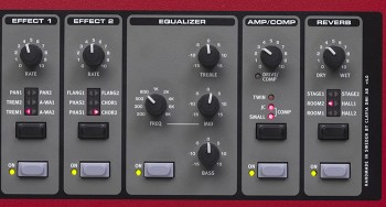 Effects, EQ and Amps
