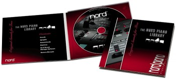Nord Piano is delivered with the Nord Piano DVD
