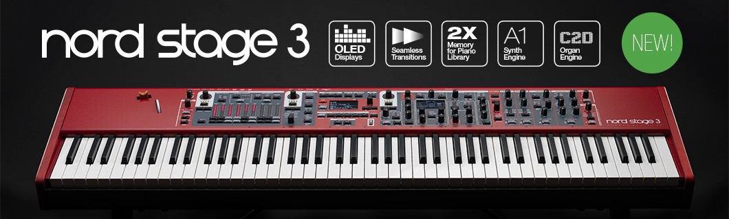 introducing the nord stage 3 nord keyboards. Black Bedroom Furniture Sets. Home Design Ideas