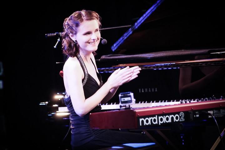 Rachel Flowers Nord Keyboards